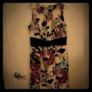 AGB floral dress, size 10